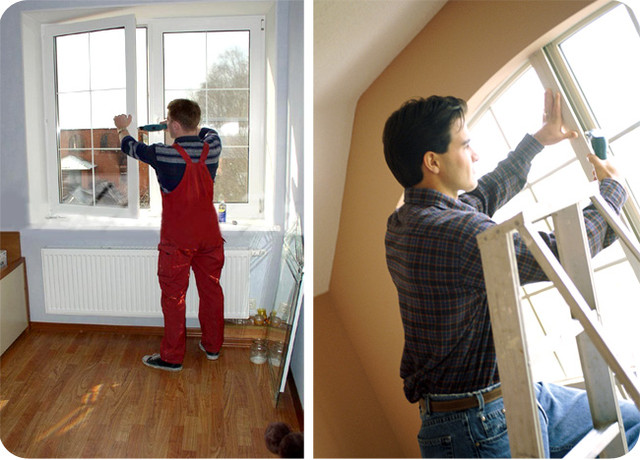 Металлопластиковые окна своими руками фото